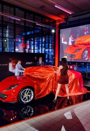 Ferrari 70th Anniversary Parade at Kroymans