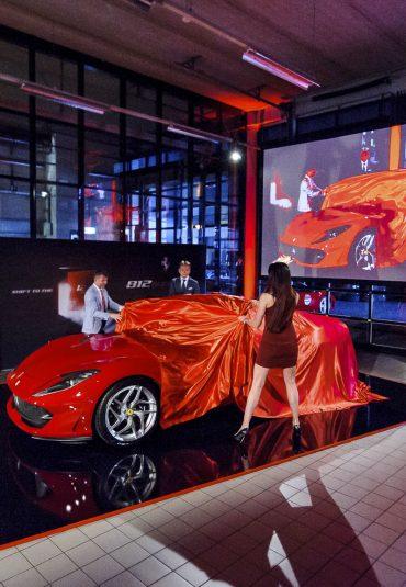 Ferrari '70 Years Anniversary Parade' bij Kroymans
