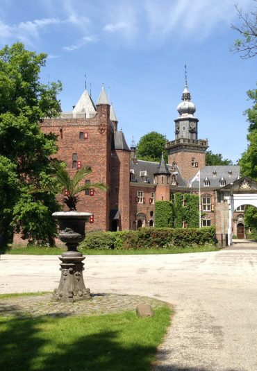 Projecta projectieschermen voor Nyenrode Business Universiteit