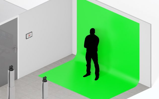 Advanced mode Green Screen tegel