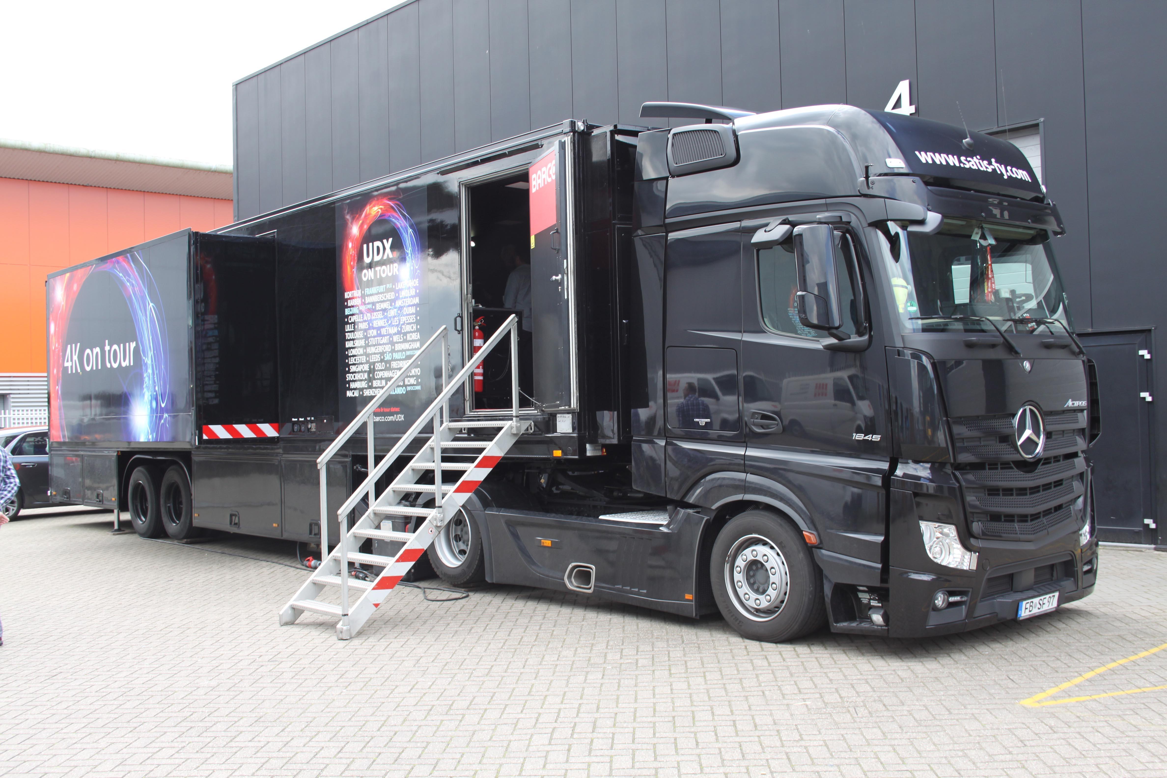 Barco 4K Tour Truck