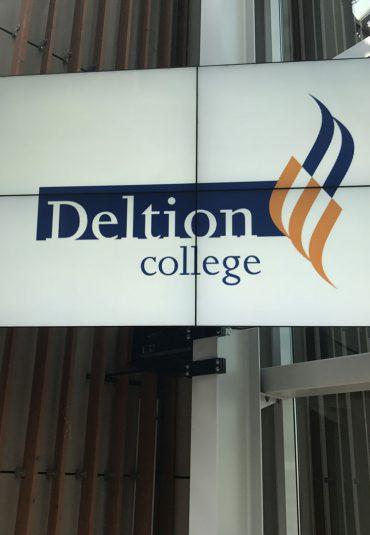 Groots presenteren bij Deltion College Zwolle
