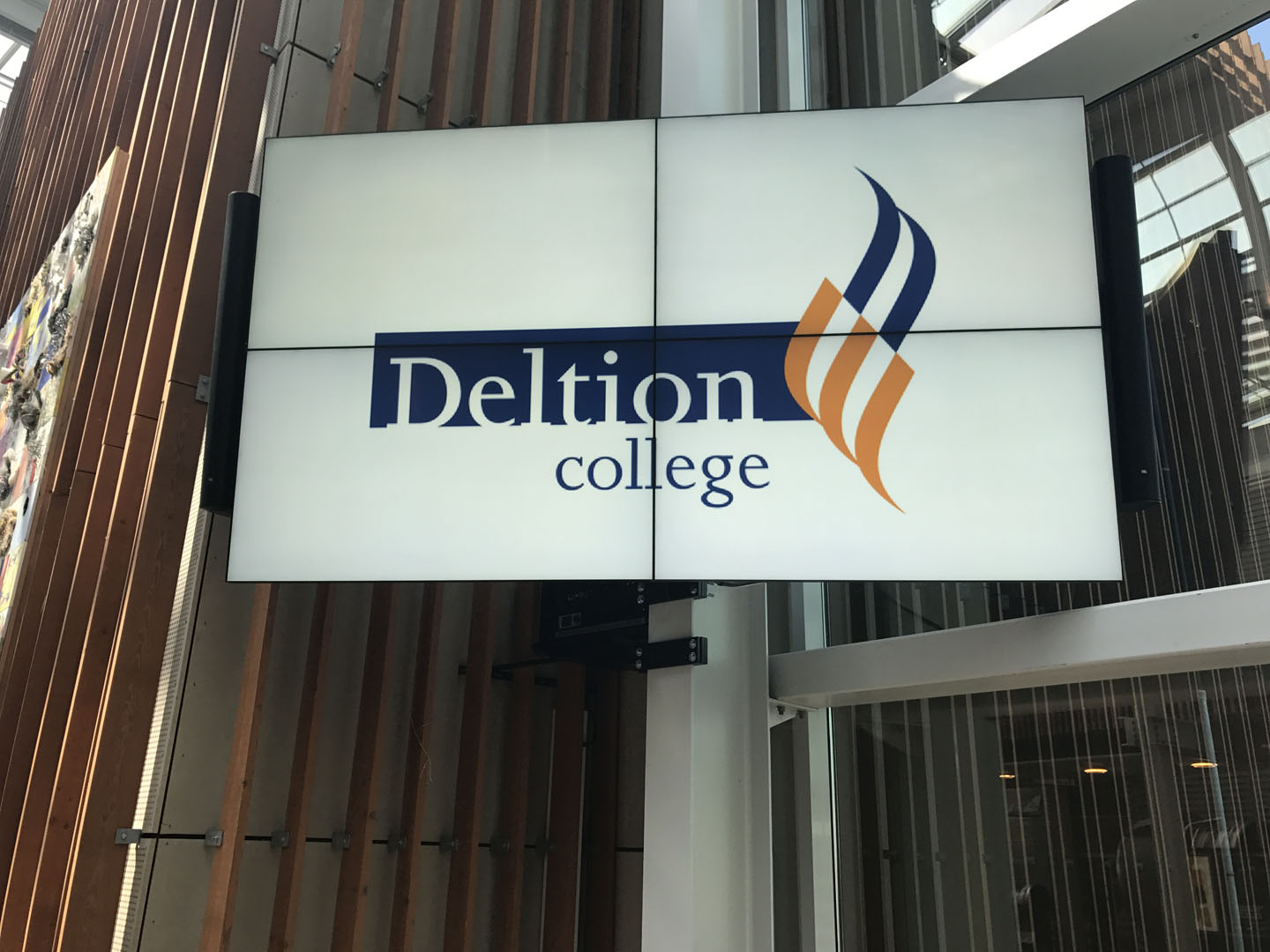Videowall Deltion College Zwolle