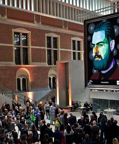 Licht kunst in Rijksmuseum
