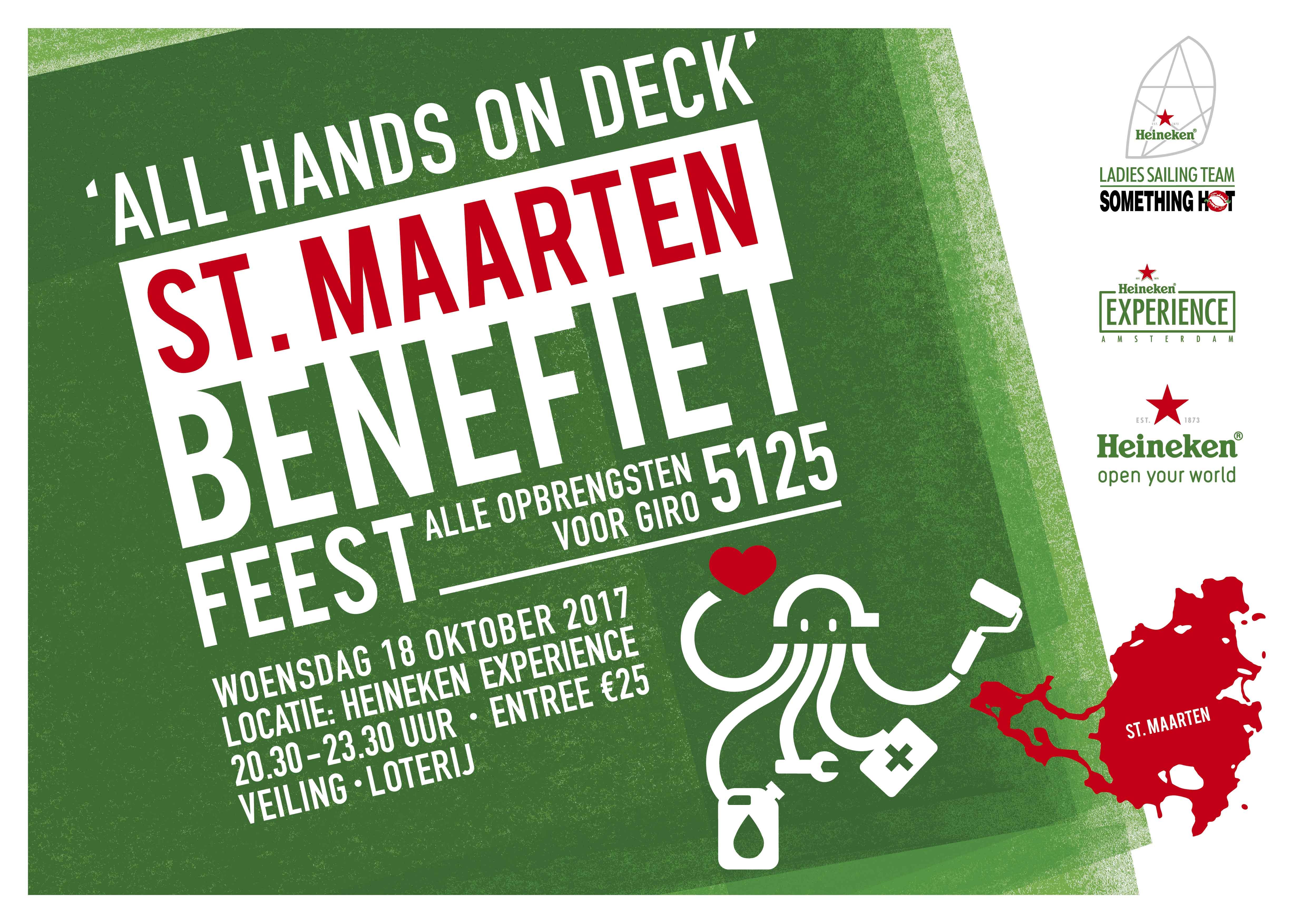 Benefiet Heineken St Maarten 2017