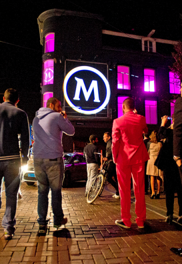 Video mapping voor Magnum