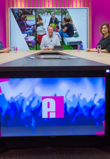 Talkshow NEW LIVE van Eventbranche.nl in de AVEX STUDIOS