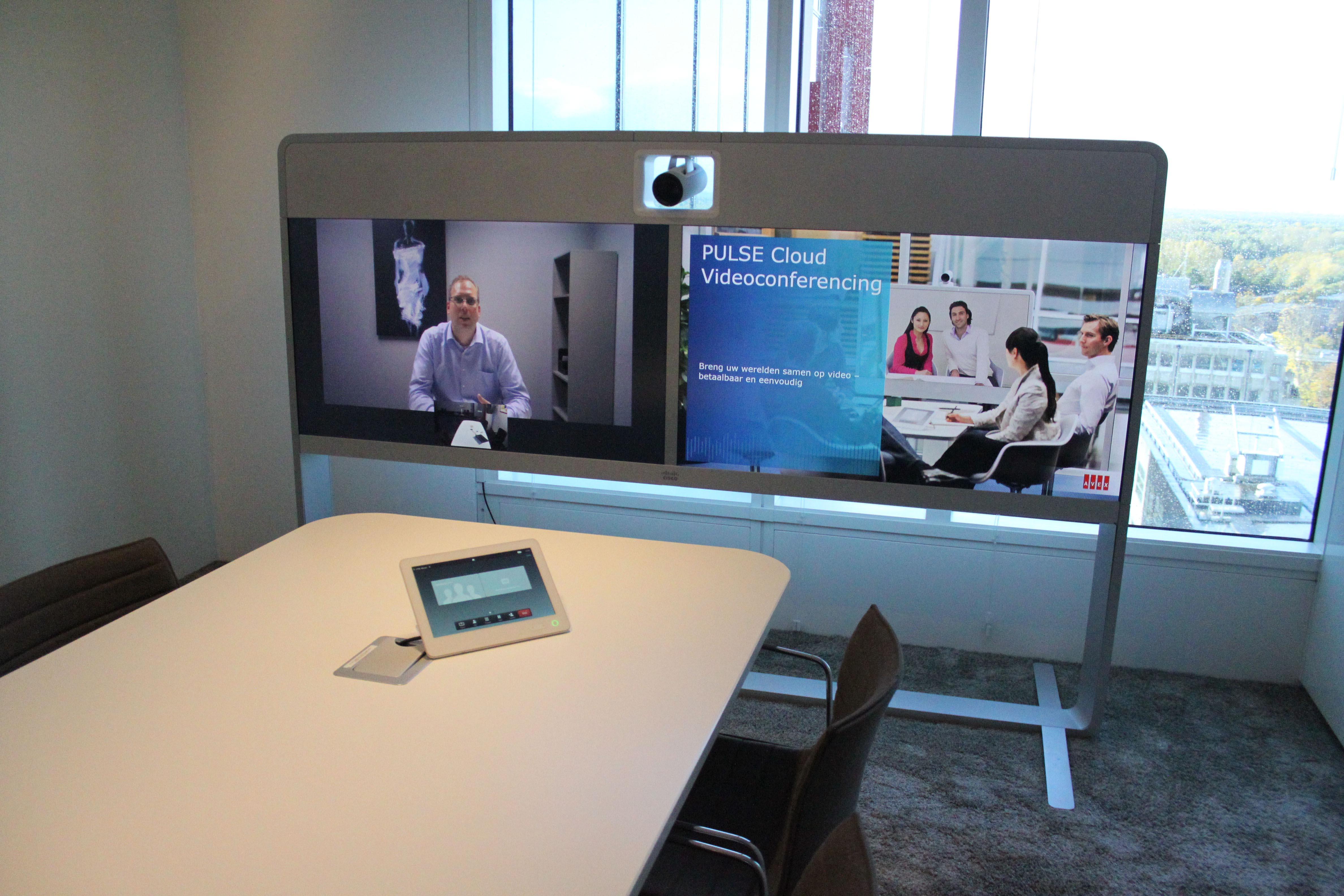 Videoconferentie Voor Werken En Vergaderen Op Afstand Avex