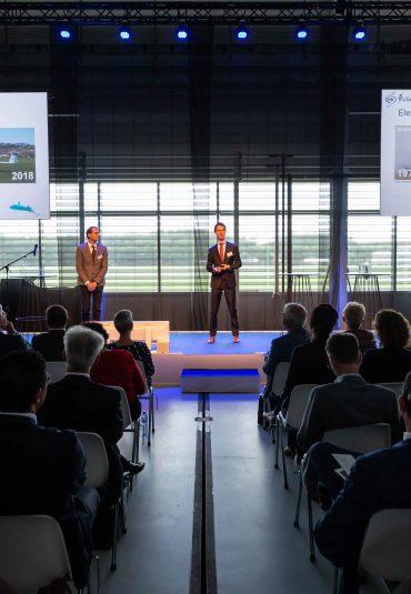 Officiële opening NLR MARKNESSE met symposium over elektrisch vliegen