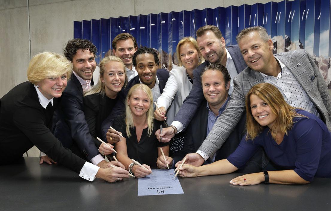 Ondertekening coalitie