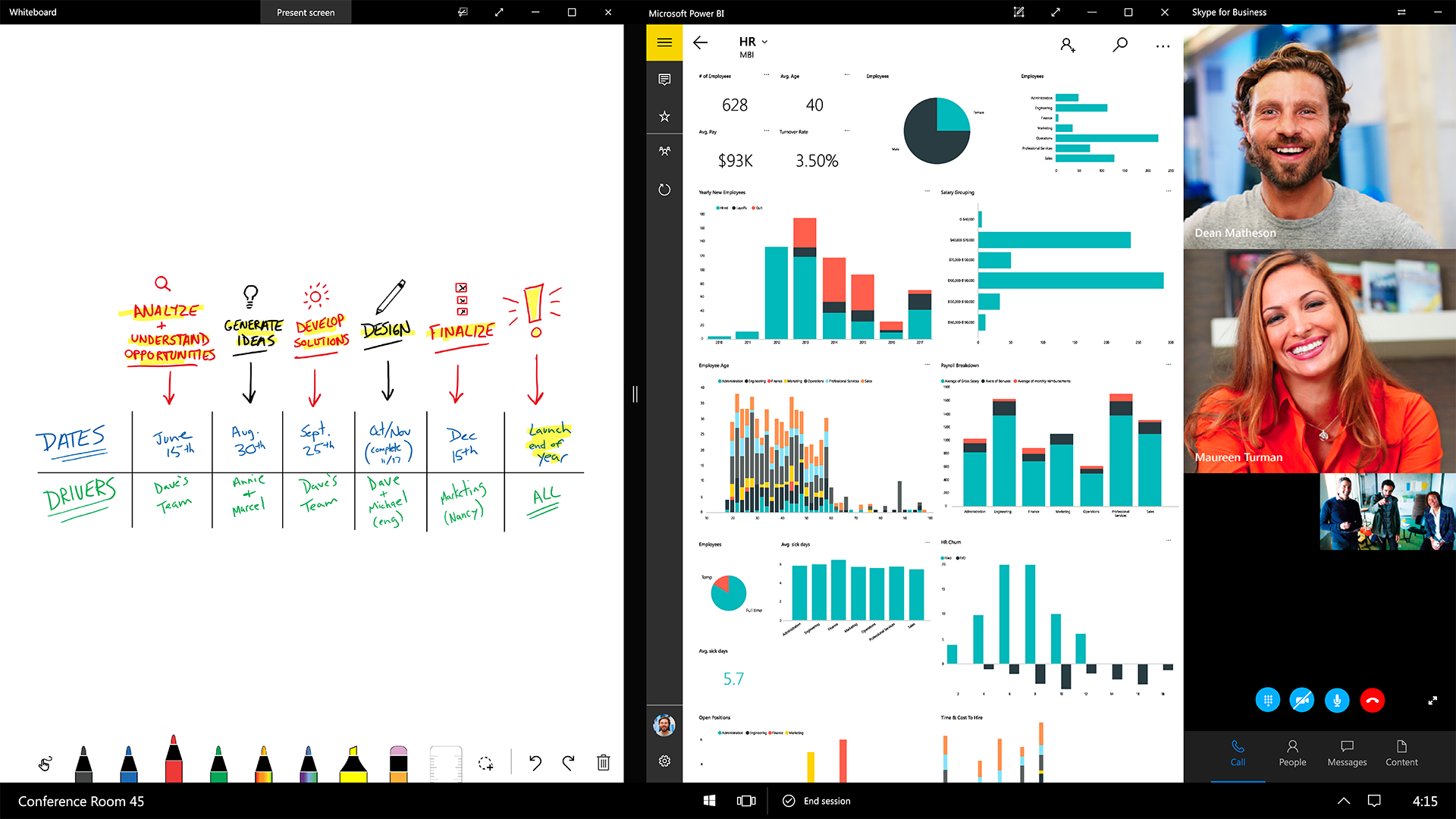 RS2_SurfaceHub_Skype_Whiteboard_PowerBI