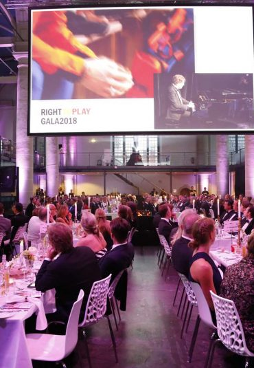 Prachtige experience tijdens Right to Play Gala