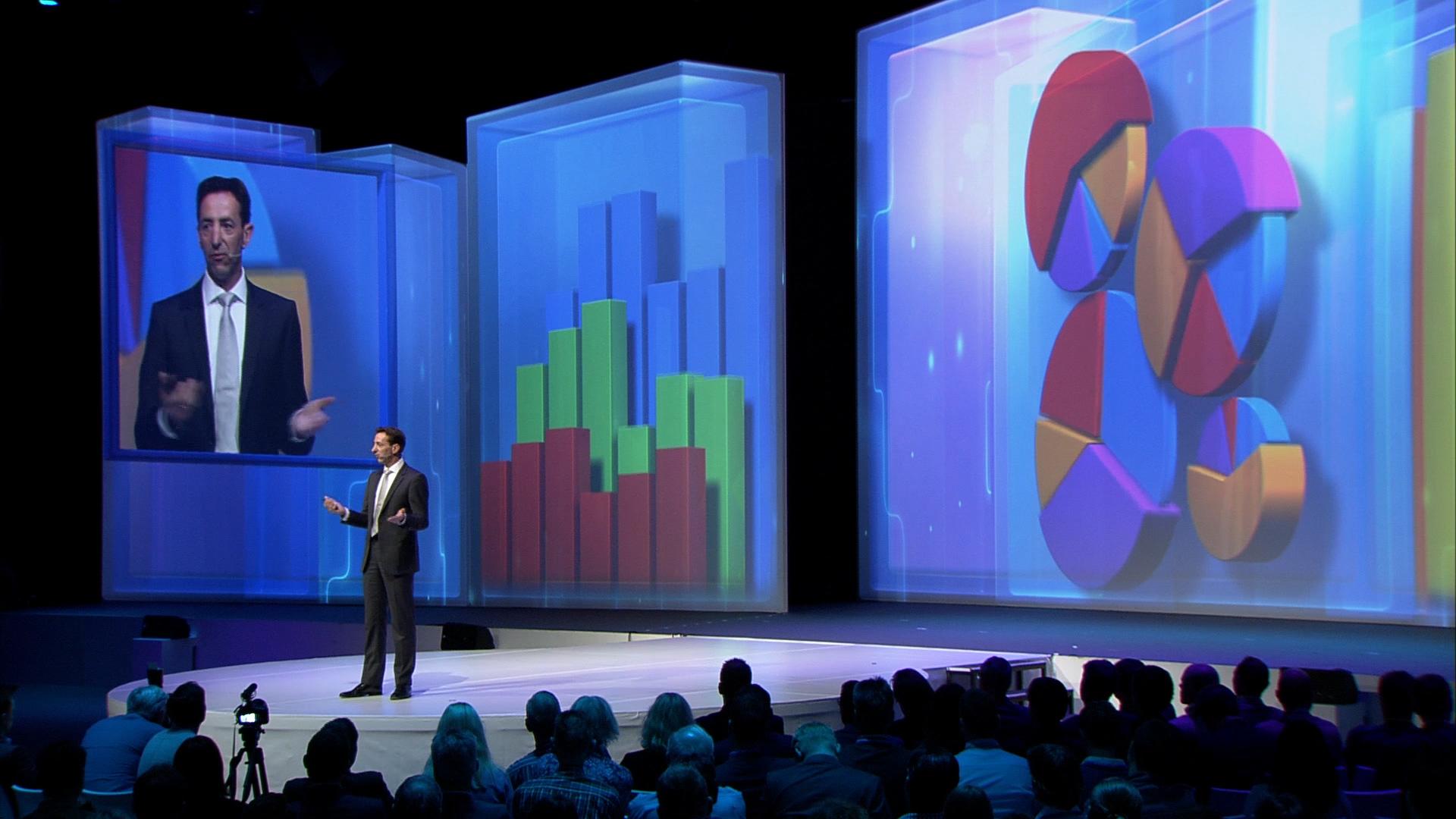 NBC Congress Center 4K projection technology