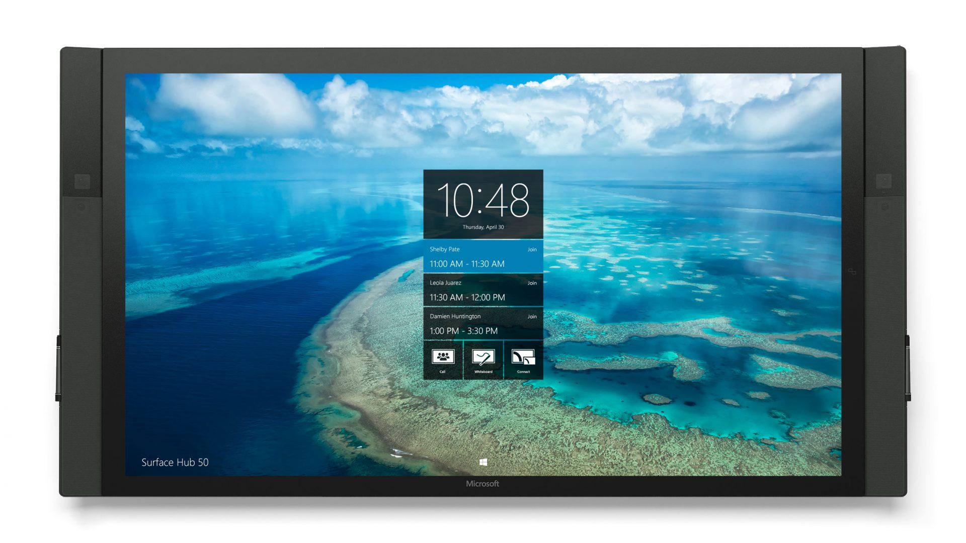 Surface-Hub-Homescreen