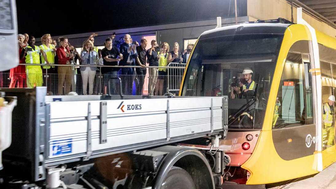 Tram Uithoflijn Utrecht
