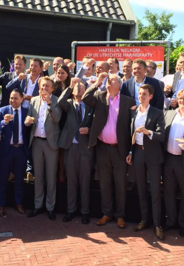 De beste Hollandse nieuwe op de Utrechtse Haringparty
