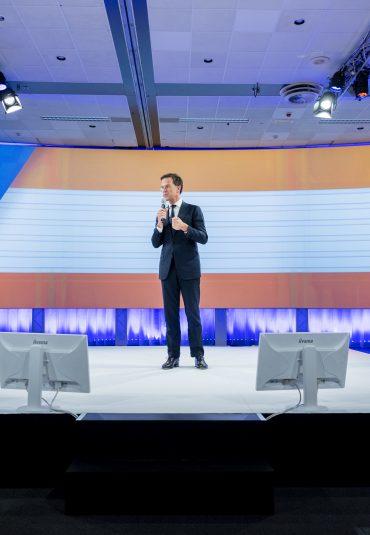 Optimaal presenteren tijdens VVD congres