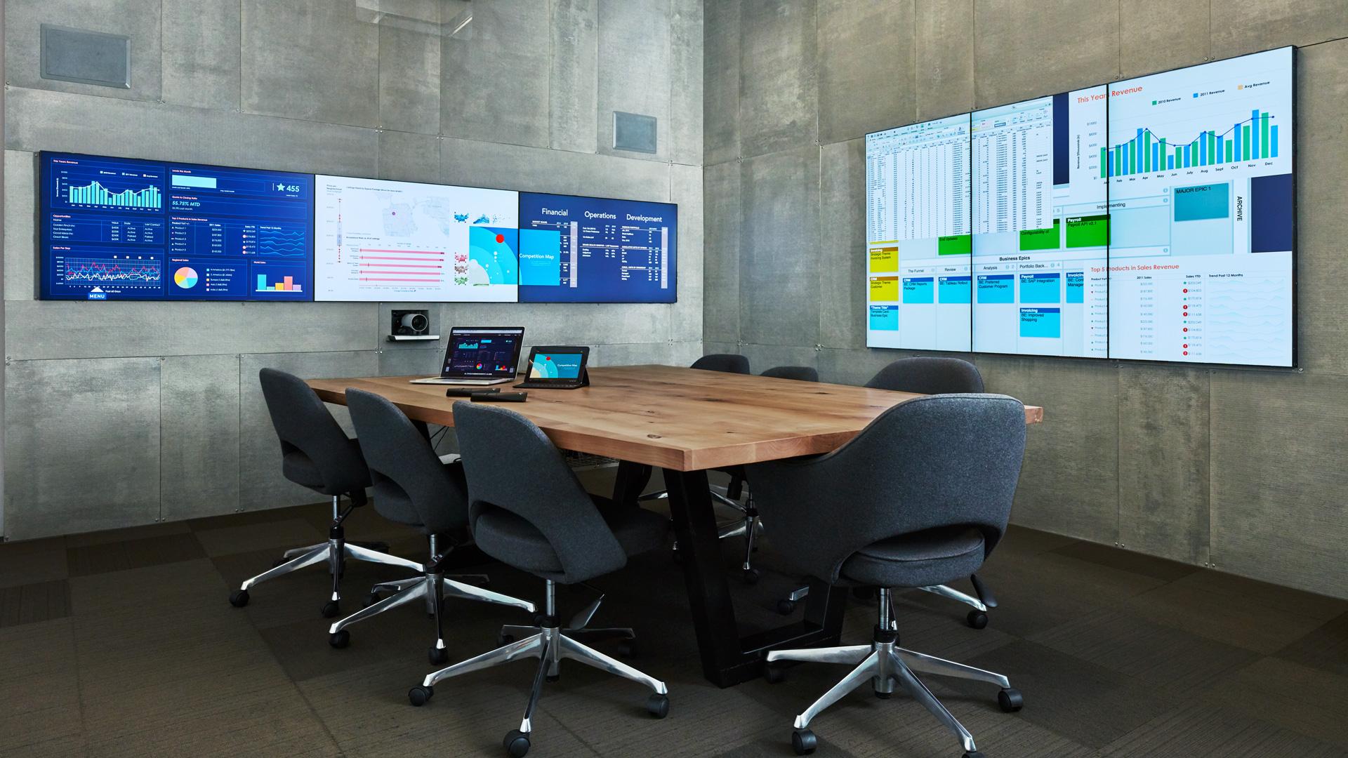 Visual collaboration platform mezzanine van oblong