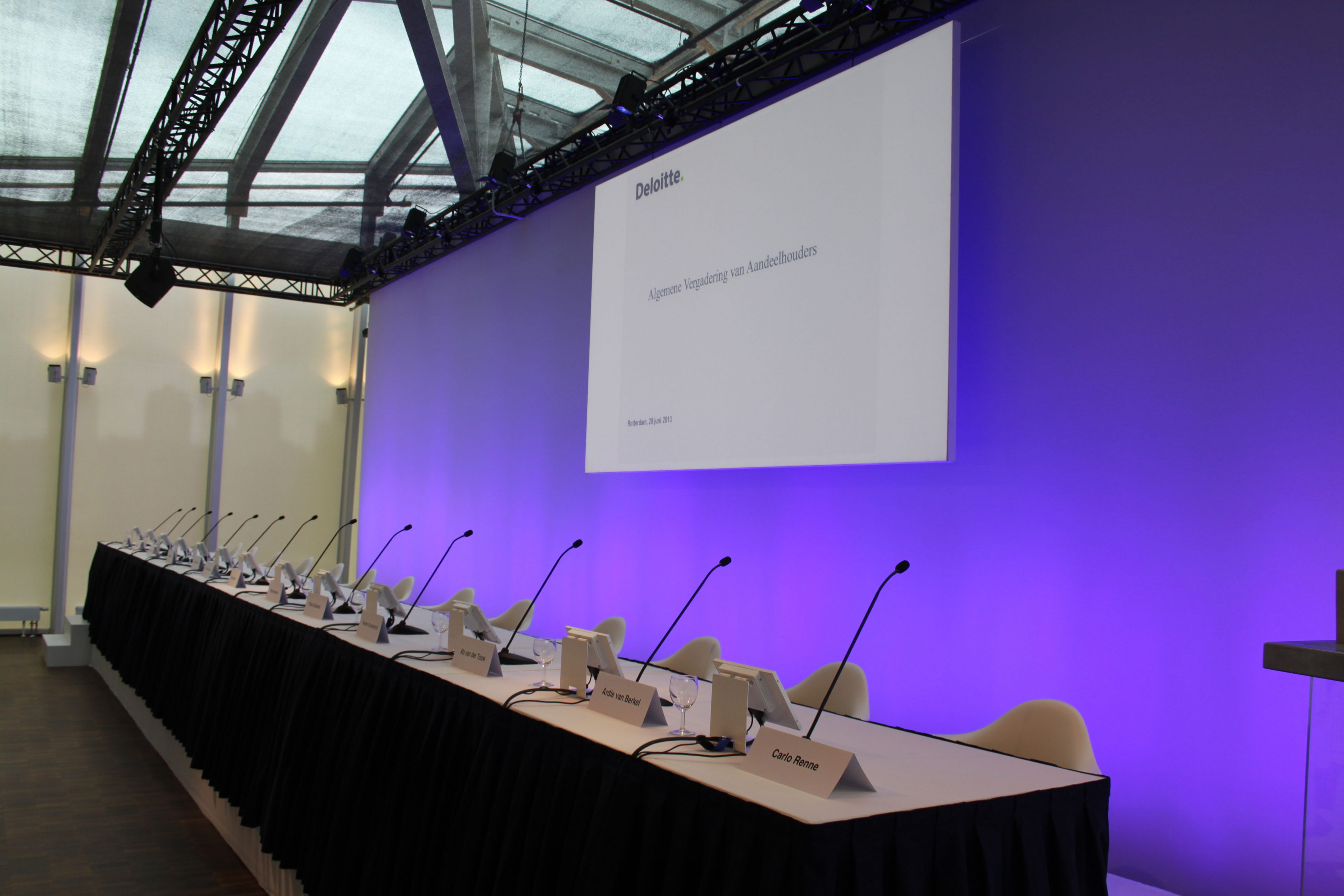 Aandeelhoudersvergadering Deloite