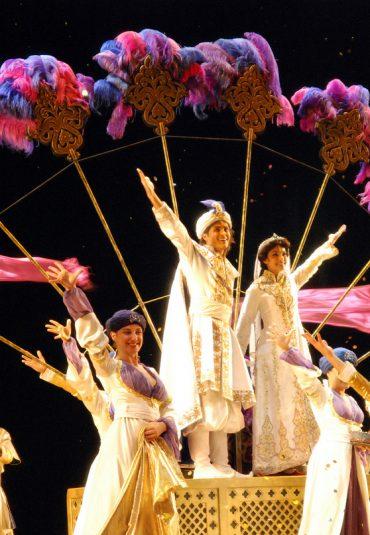 Een sterrenhemel van LED bij Aladdin