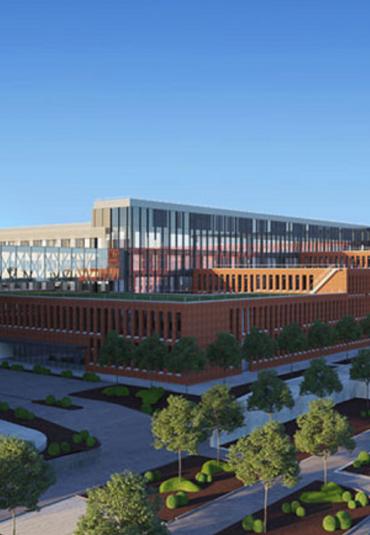 AZ Delta bouwt nieuwe campus en kiest AVEX als audiovisuele partner