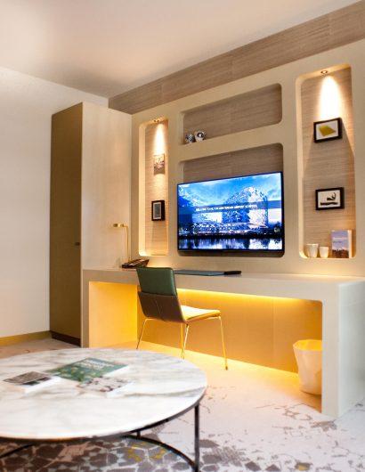 Hilton Airport Schiphol hotelkamer