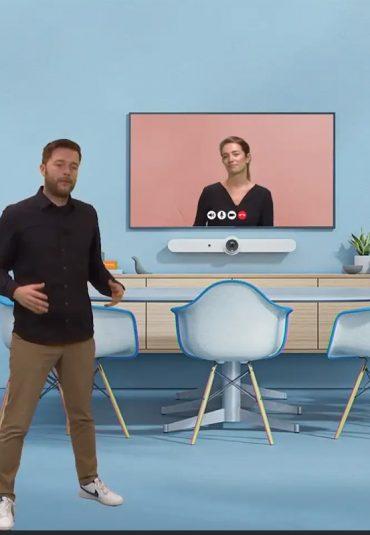 Webinar: Hoe connect ik online collega's met meeting rooms op kantoor?