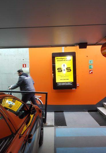 De stopkracht van MobilAd digitale schermen