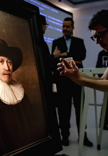 Onthulling van The next Rembrandt