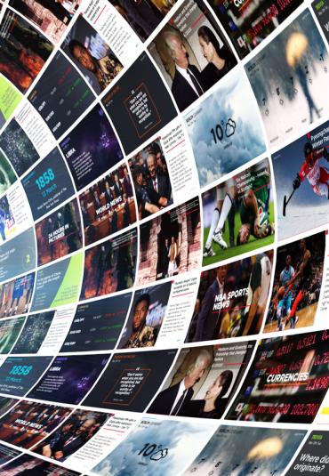 Krachtige content voor uw digital signage platform met Seenspire apps