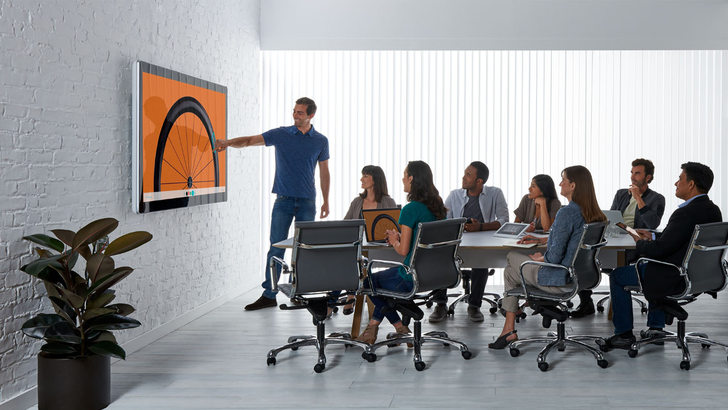 Spark Board 70 meeting room