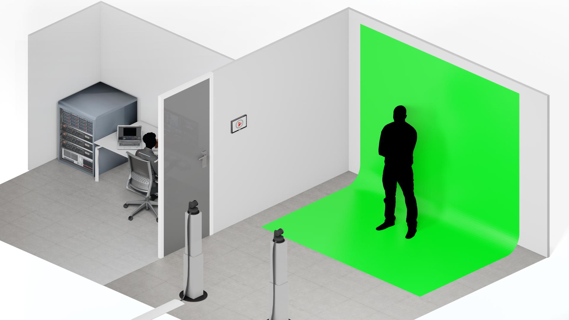 Advanced mode Green Screen