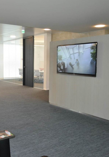 Goodman is rolling out digital signage across EMEA offices
