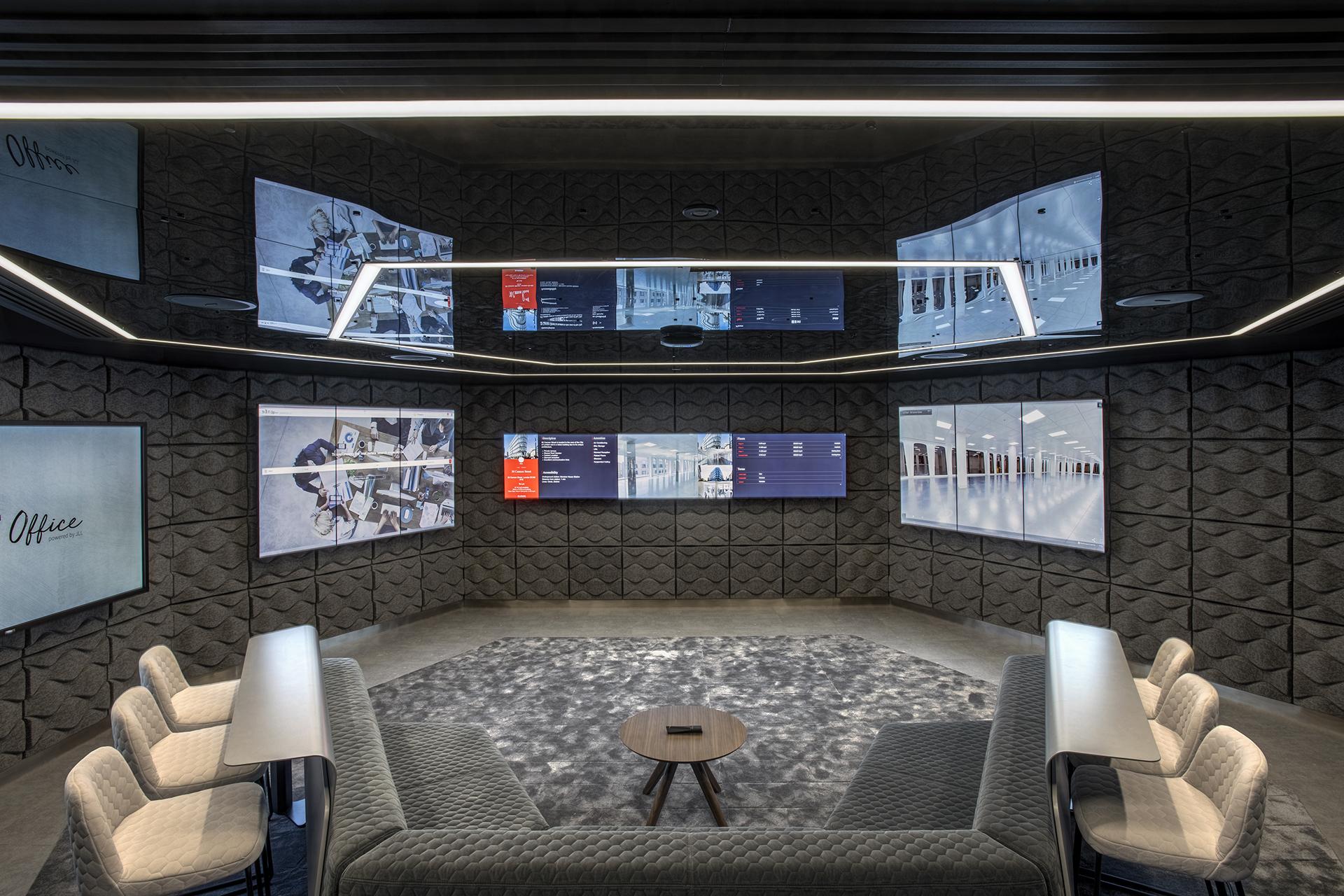 JLL NXT Office Oblong Mezzanine