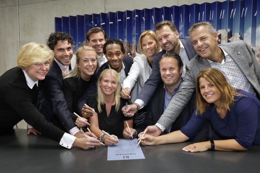 Ondertekening-coalitie
